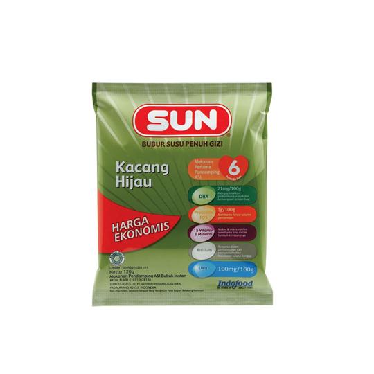 SUN BUBUR SEREAL EKONOMIS KACANG HIJAU 120 G