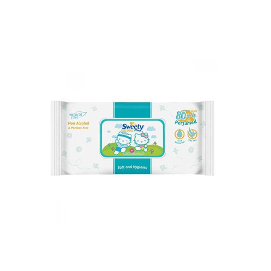 SWEETY BABY WIPES PARFUMED 80 PIECES