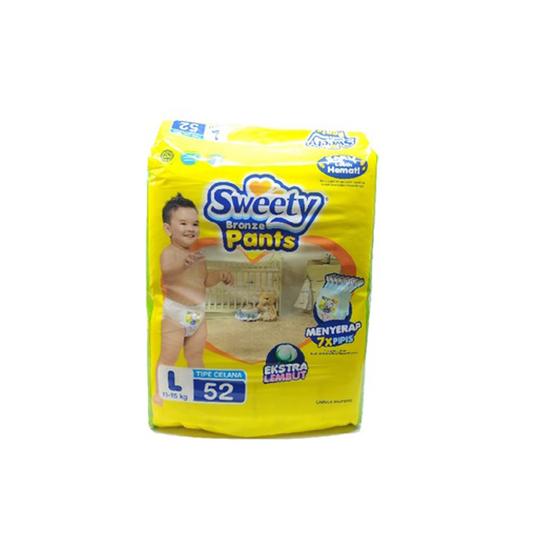 SWEETY BRONZE PANTS L 52 PIECES