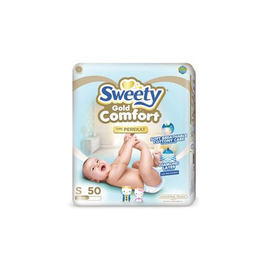 SWEETY GOLD COMFORT S 50 PIECES
