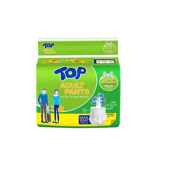 TOP ADULT PANTS M 10 PIECES