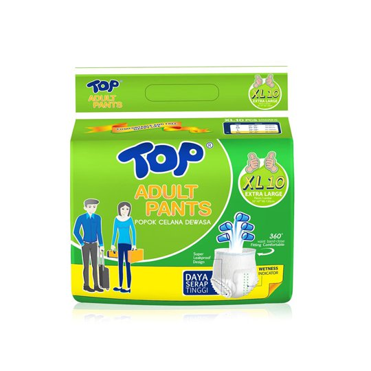 TOP ADULT PANTS XL 10 PIECES
