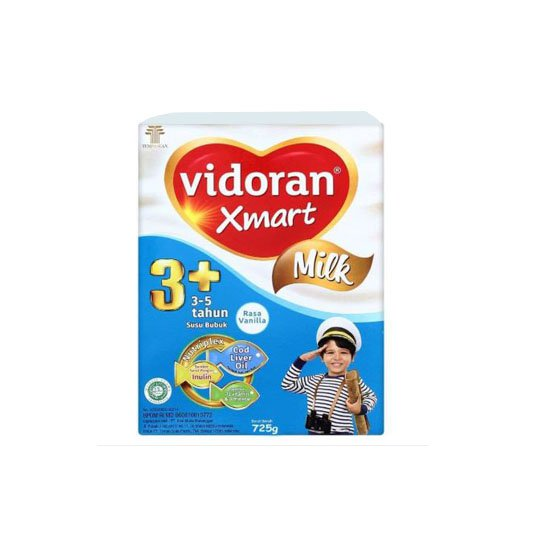VIDORAN XMART 3+ MILK VANILA 725 GR