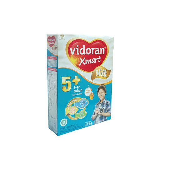 VIDORAN XMART 5+ MILK MADU 375 GR