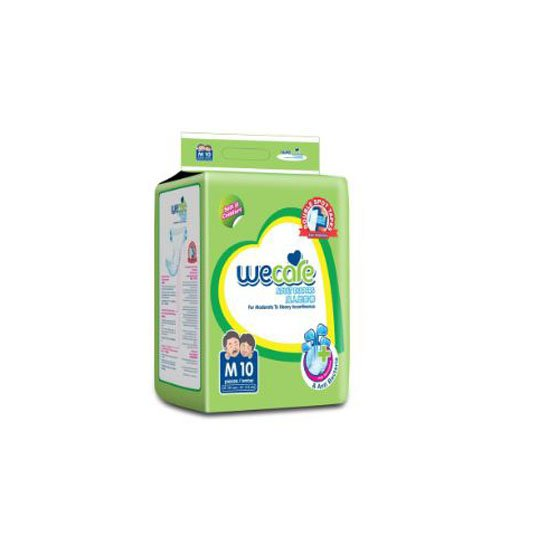 WE CARE ADULT DIAPERS M 10 PIECES