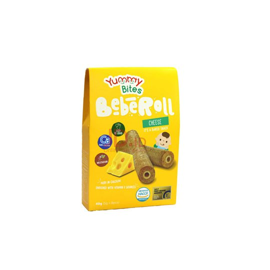 YUMMY BITES BEBEROLL CHEESE 40 GR