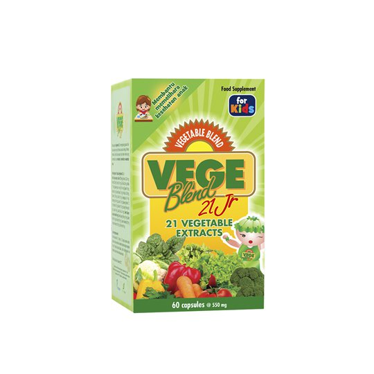VEGEBLEND 21 JR 60 KAPSUL