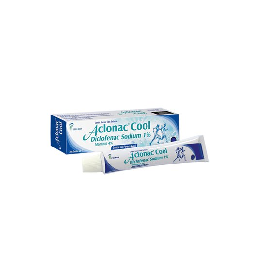 ACLONAC COOL 1% GEL 20G
