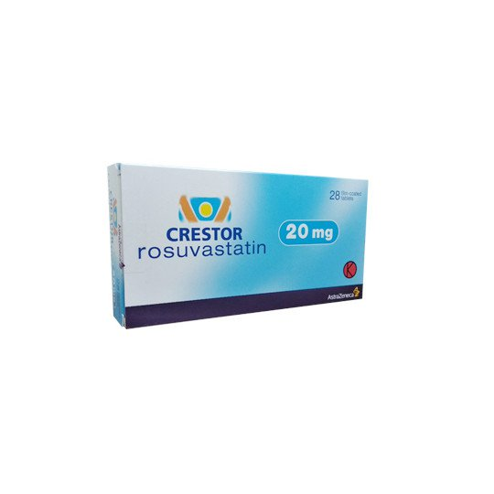 CRESTOR 20 MG 15 TABLET