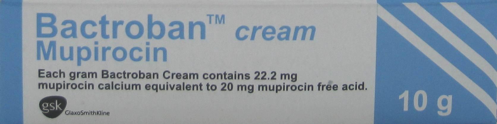 BACTROBAN CREAM 10 G