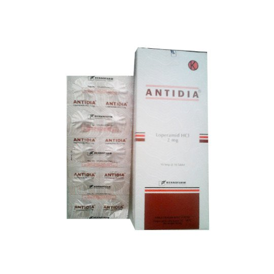ANTIDIA 2 MG 10 TABLET