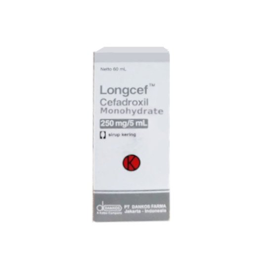 LONGCEF DRY SYRUP 250MG/5 ML 60 ML