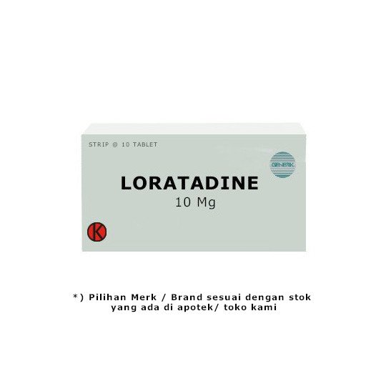 LORATADINE 10 MG 10 TABLET