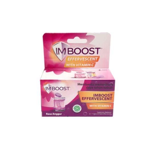 Imboost Effervescent Rasa Anggur 8 Tablet