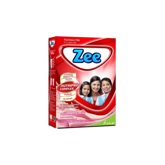 ZEE STRAWBERRY MILK 350 GR