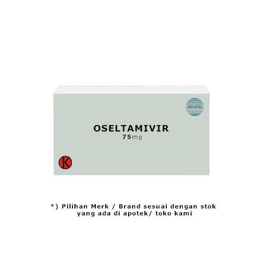 Oseltamivir 75 mg 10 Kapsul