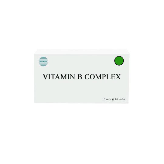 VITAMIN B COMPLEX 10 TABLET