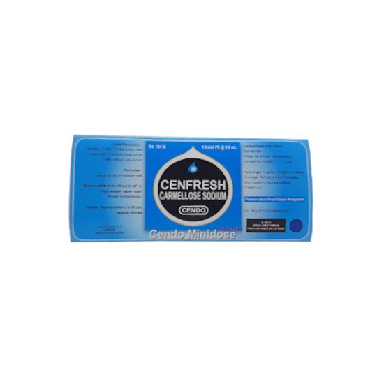 CENDO CENFRESH MINIDOSE 0.6 ML