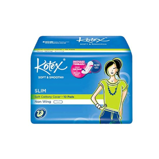 KOTEX SOFT SMOOTH SLIM NON WING 10 PADS