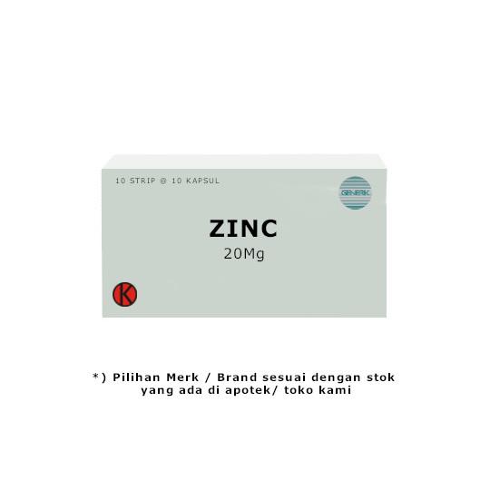 Zinc 20 mg 10 Tablet