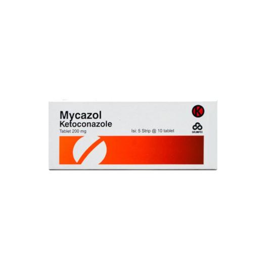 MYCAZOL 200 MG 10 TABLET