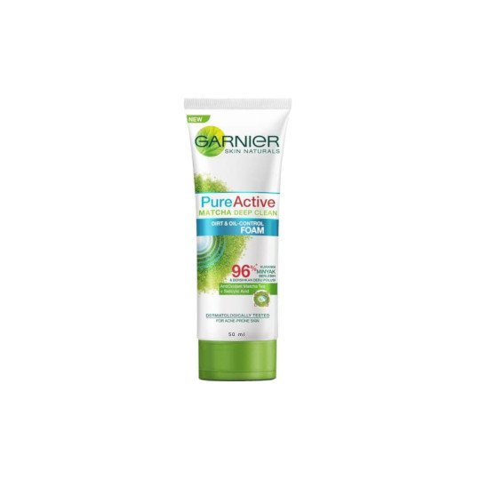 GARNIER PURE ACTIVE MATCHA DEEP CLEAN FOAM 50 ML