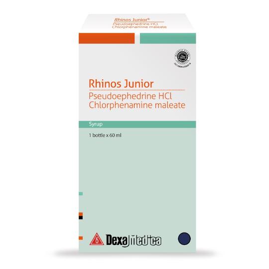 Rhinos Junior Sirup 60 ml