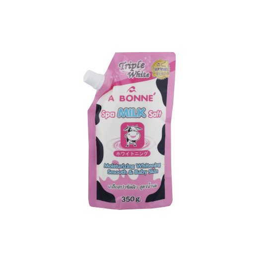 A BONNE SPA MILK SALT TRIPLE WHITE 350 G