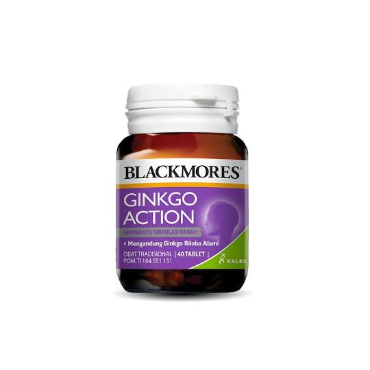 BLACKMORES GINKGO ACTION 40 TABLET