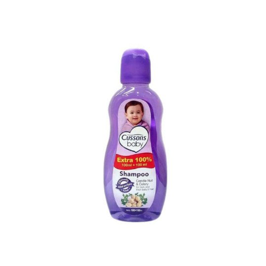 Cussons Baby Shampoo Candle Nut & Celery 200 ml
