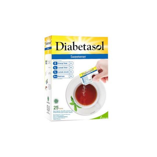 Diabetasol Zero Calorie Sweetener 2 Box @ 25 Sachet - Obat Rutin