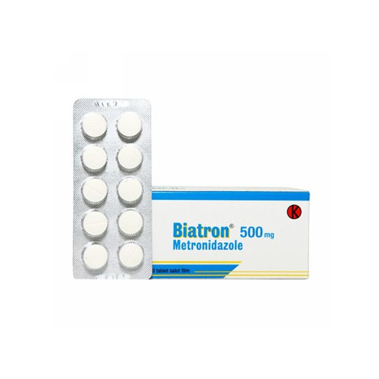 BIATRON 500 MG 10 TABLET