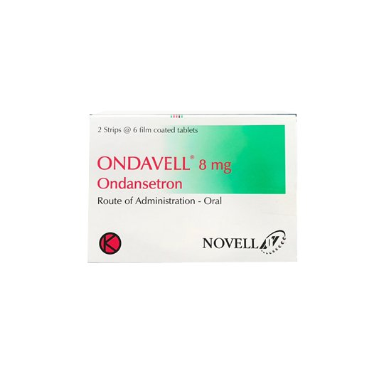 ONDAVELL 8 MG 6 TABLET