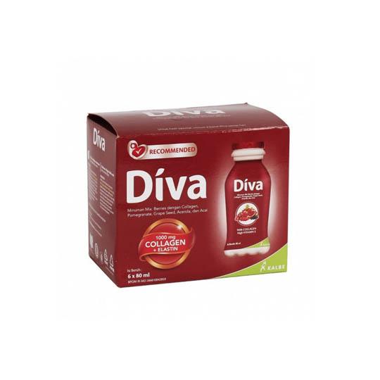 Diva Collagen Drink Pack 6 Botol