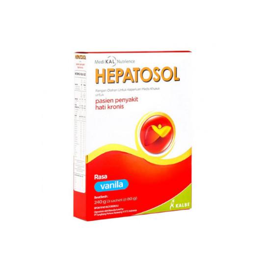 HEPATOSOL RASA VANILA 240 G