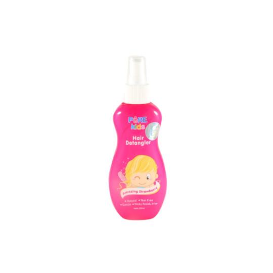Pure Kids Hair Detangler Strawberry 200 ml