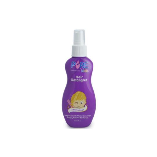 Pure Kids Hair Detangler Grapeberry 200 ml