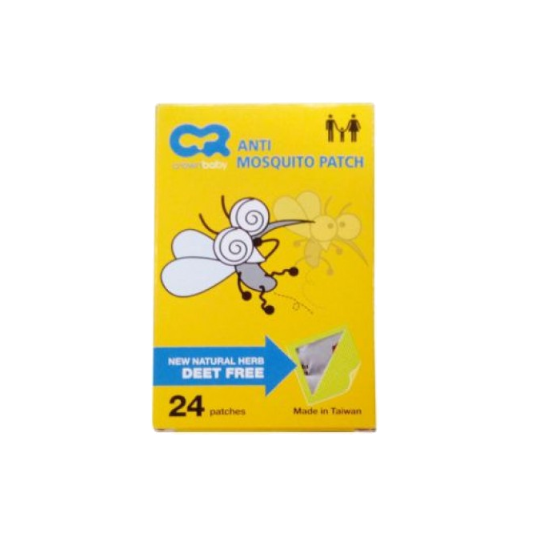 Crown Anti Mosquito Patch Cr 2138 24 Pieces