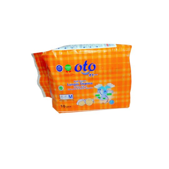 OTO ADULT DIAPERS M 10 PIECES