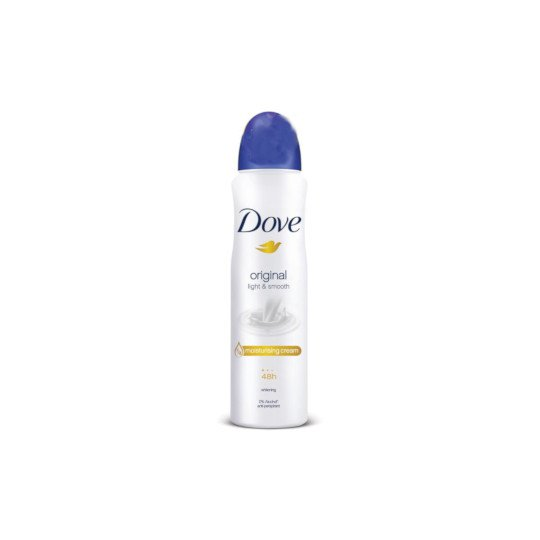 DOVE ANTI PERPIRANT ORIGINAL LIGHT & SMOOTH AEROSOL 150 ML