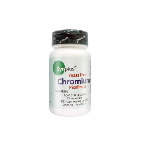 SYNPLUS CHROMIUM PICOLINATE 30 TABLET