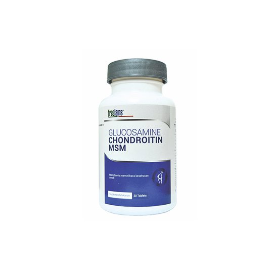 TREELAINS GLUCOSAMINE CHONDROITIN MSM 30 TABLET