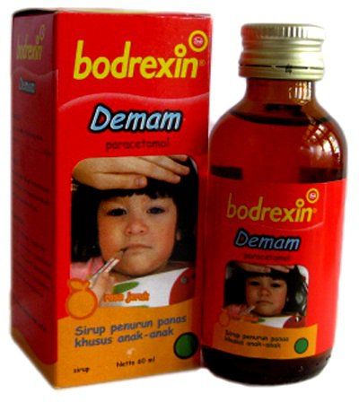 Bodrexin Demam Sirup Rasa Jeruk 30 mL
