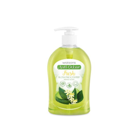 WATSONS HAND SOAP ANTI ODOUR FRESH BLOSSOM 500 ML