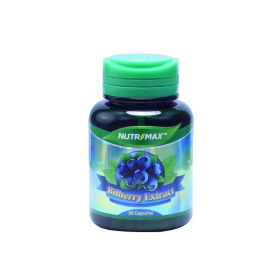 NUTRIMAX BILBERRY EXTRACT 30 KAPSUL