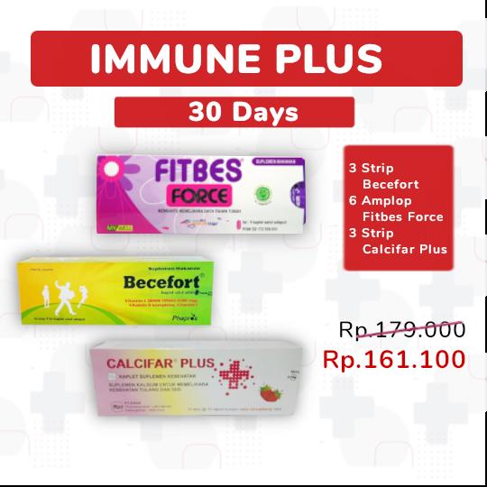 Immune Plus Package 30-Days - Paket Sehat