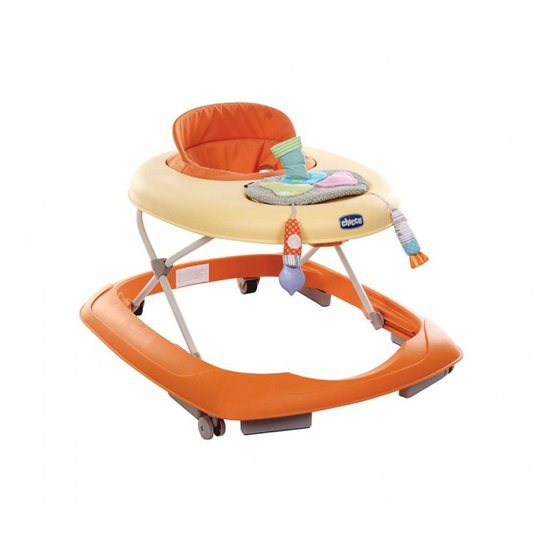 CHICCO PAINT BABY WALKER ORANGE