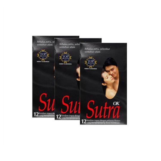Kondom Sutra OK 3 Box (@ 12 Pieces) - Lebih Hemat