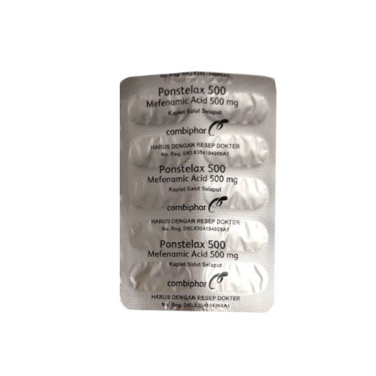 PONSTELAX 500 MG 10 TABLET