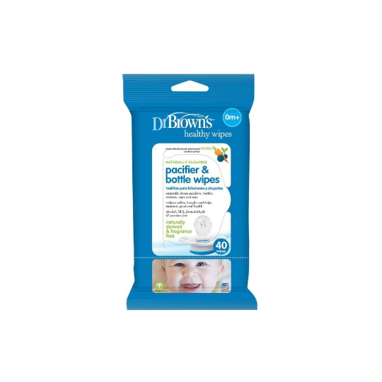 Dr Brown's Wipes Pacifier & Bottle 30 Pieces